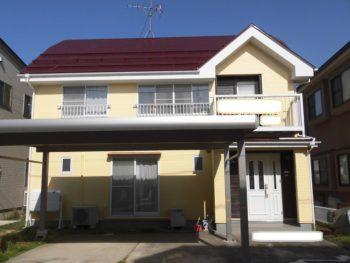 新潟市秋葉区 S様邸 外壁・屋根塗装工事
