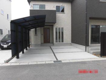 新潟市西区 K様邸 新築外構工事